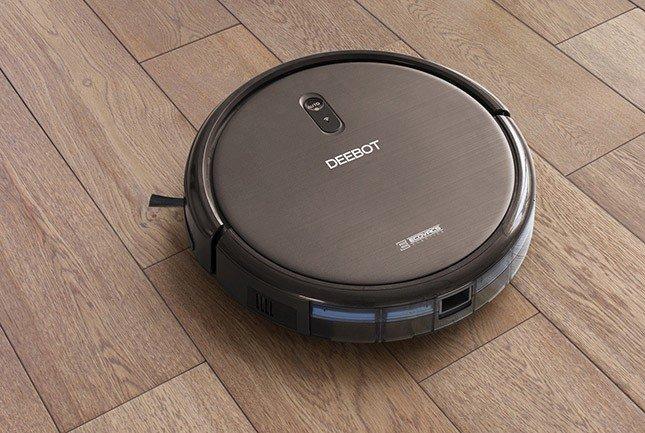DEEBOT N79S wood flooring