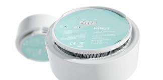 minut smart home alarm - main image