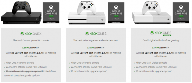 xbox all access console offers