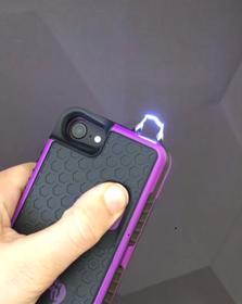 yellow jacket iphone stun gun case taser