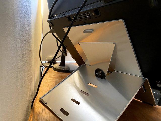 BakkerElkhuizen Ergo-Q 260 laptop stand rear