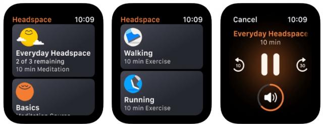 best apple watch apps - headspace