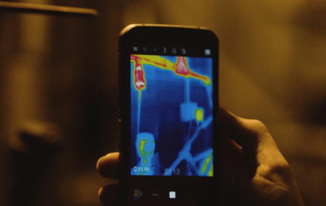 Cat S62 Pro Rugged Smartphone Thermal FLIR camera
