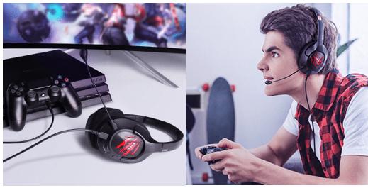 EKSA Air Joy Pro 7.1 Gaming Headset combo image