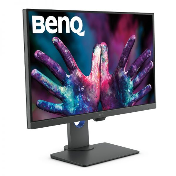 benq pd2705q monitor front angle