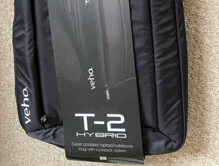 veho accessories giveaway - t-2 backpack