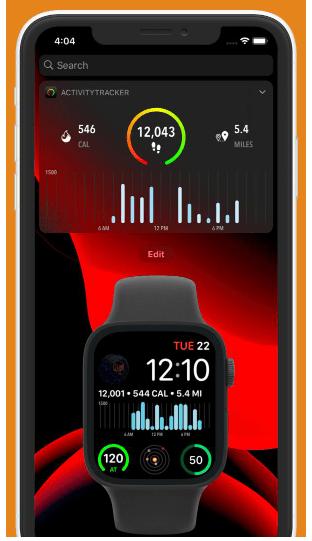 Activity Tracker iOS App apple watch