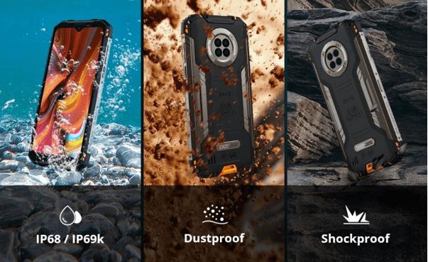 DOOGEE S96 Pro Rugged Smartphone Waterproof and shockproof credentials