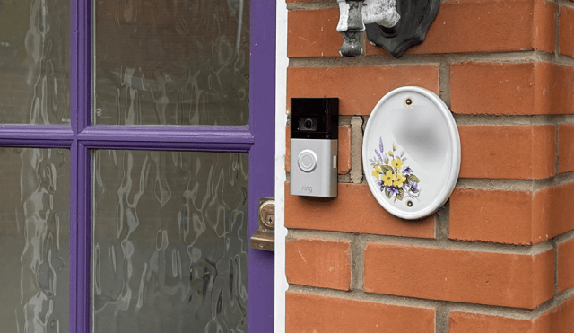 Ring Video Doorbell 3 Plus Review - External Placement