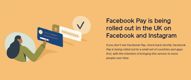 facebook pay new payment solution available in the UK