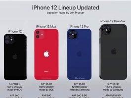 iphone12 rumoured lineup