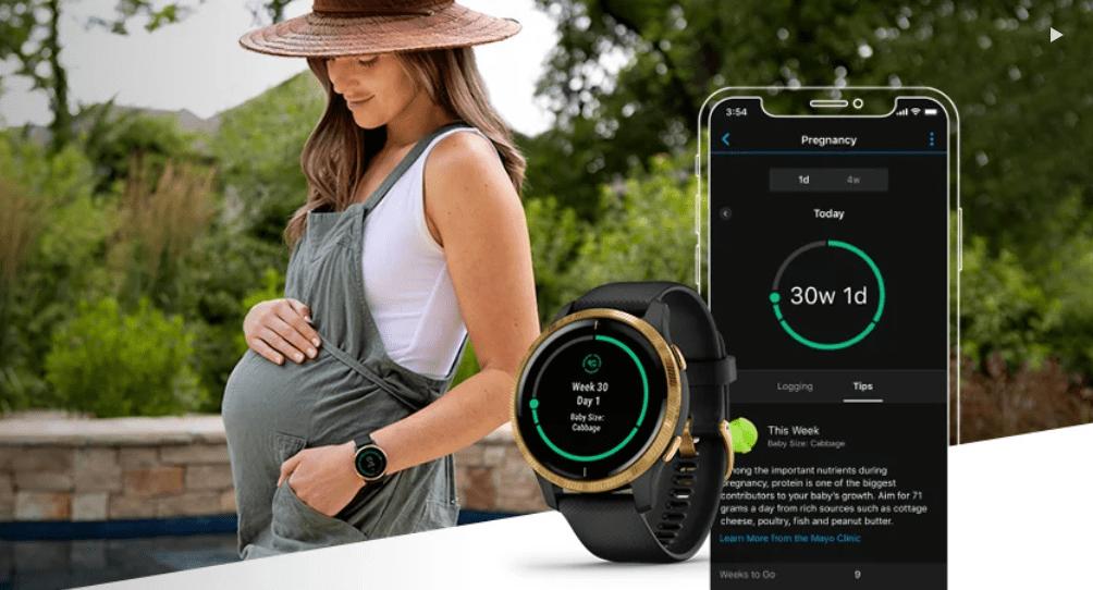 Garmin Pregnancy Tracking Feature