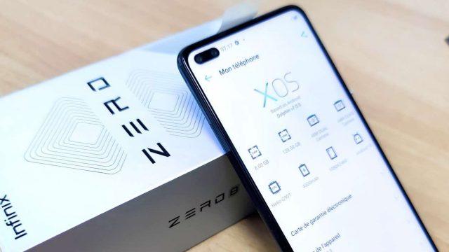 Infinix Zero 8 Review - Software homescreen