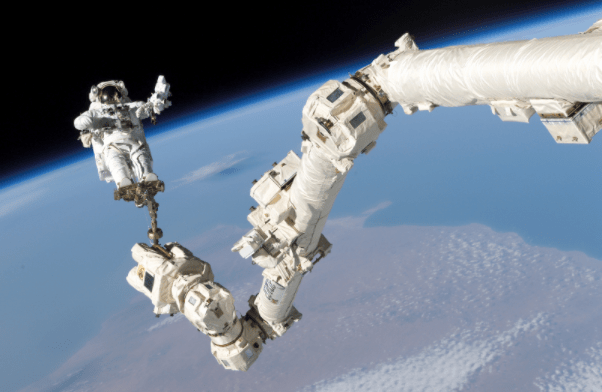 future tech robots in space