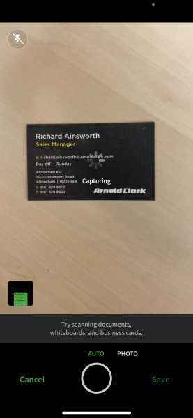 Evernote App Upgrade Review New Business Card Scanner