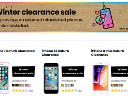 giffgaff winter sale refurbished handsets