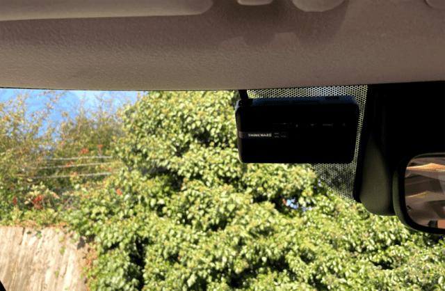 Thinkware Dashcam F770 review - internal installation