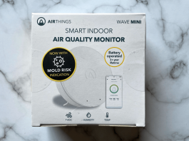 airthings wave mini review boxed