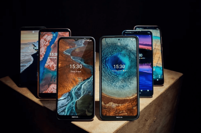 new nokia 2021 phones C20, G20 and X20-min