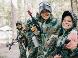 Spend Time with Friends - Paintballing