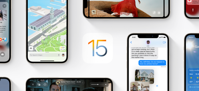 New Features for iOS 15 Apple