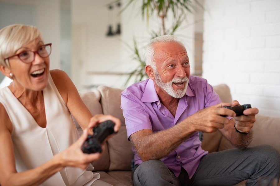 Great Video Games For Older People