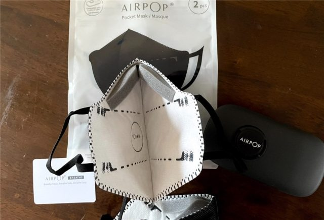 AirPop Facemask Review - Inner Mask View