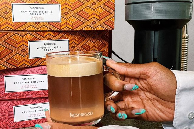 Nespress coffee