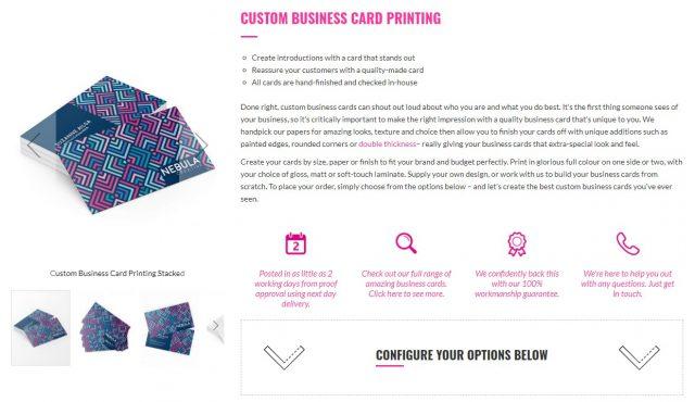 aura print review custom business cards