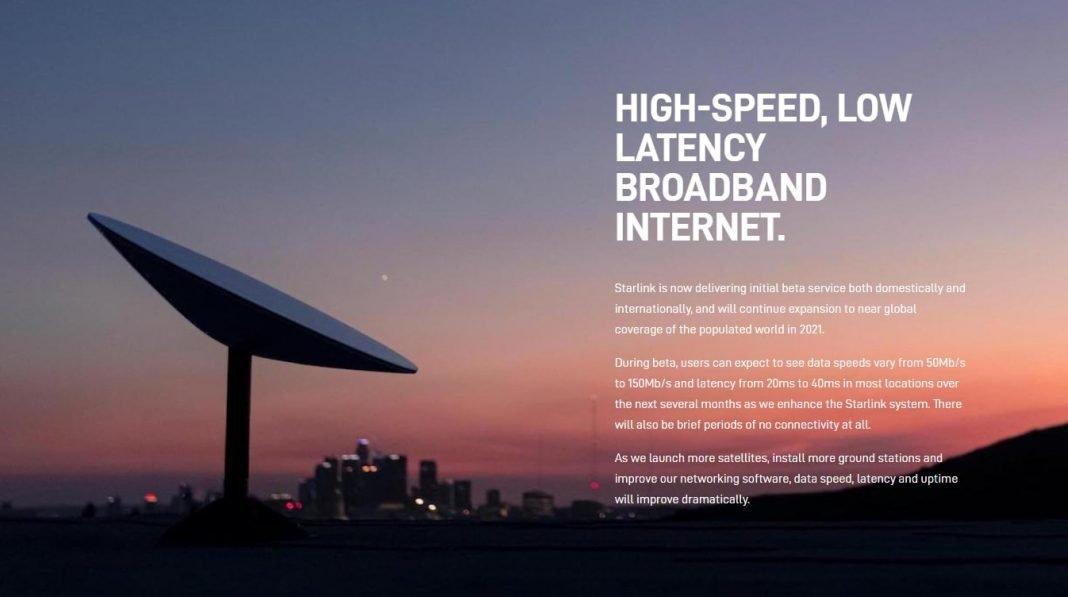starlink satellite internet