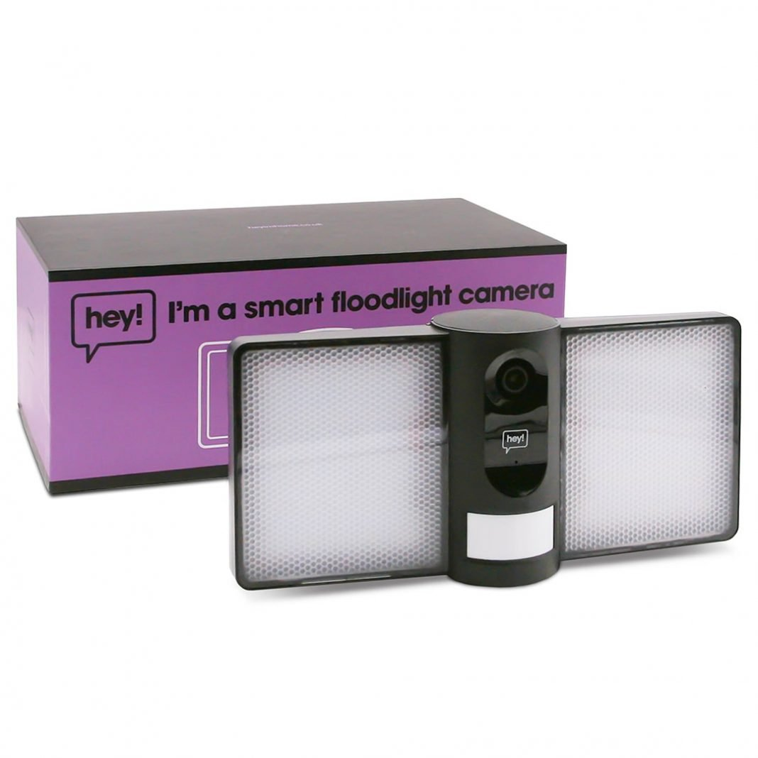 hey smart floodlight camera featured